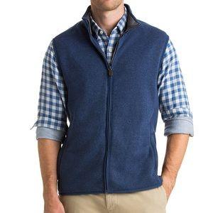 Vineyard Vines Sweater Fleece Vest Medium